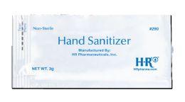 144 Bulk HR Hand Sanitizer 3 g Packet