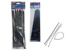 144 Bulk 40pc Black Cable Ties