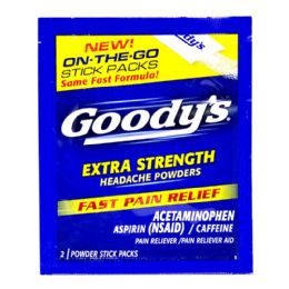 72 Bulk Headache Powder Goody Extra Strength Headache Powder Sticks Pack Of 2