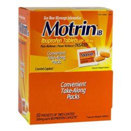 200 Bulk Travel Size Motrin Ibuprofen Pack Of 2