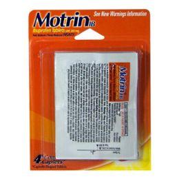 60 Bulk Travel Size Motrin Ibuprofen Pack Of 4