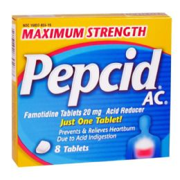 12 Bulk Pepcid Complete Box Of 8