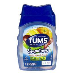 36 Bulk Travel Size Tums Ex Smoothies Assorted Fruit Bottle