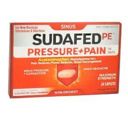 12 Bulk Travel Size Sudafed Pe Sinus Pressure Pain Box Of 24
