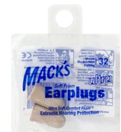 200 Bulk Soft Earplugs Mack's Ultra Soft Earplugs