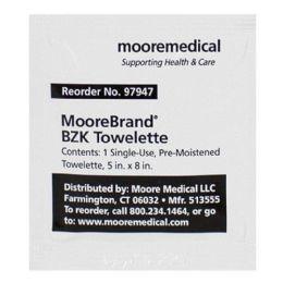 1500 Bulk Benzalkonium Chloride Antiseptic Wipes