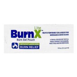 200 Bulk Cooling Gel - Burnx Lite First Aid Cooling Gel Packet 1/8 oz. Foil Packet