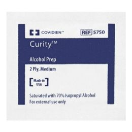 2000 Bulk Sterile Wipes - Curity Alcohol Prep Sterile Wipes