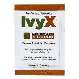 150 Bulk Towelettes - Ivyx Poison Oak Ivy Pre Contact Towelettes 7.8 gm.