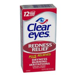 24 Bulk Clear Eyes Drops 0.5 oz.
