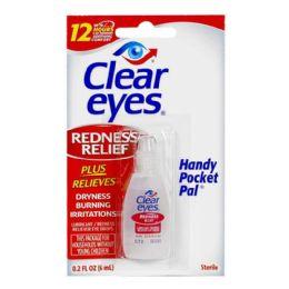 48 Bulk Travel Size Clear Eyes Drops 0.2 oz.