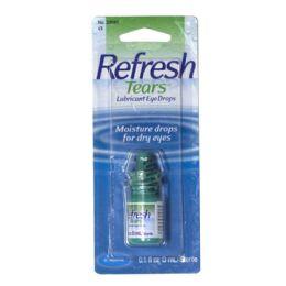 36 Bulk Lubricant Eye Drops - Refresh Tears Lubricant Eye Drops 0.1 Oz.