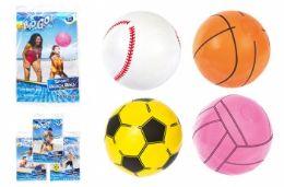 """36 Bulk 16"""" Beach Sport Ball"""