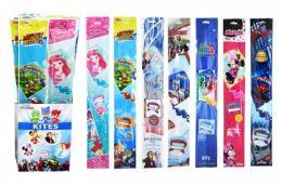 """60 Bulk 23"""" Kite In Floor Display (licensed Characters)"""