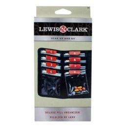 12 Bulk Travel Size Pill Organizer - Lewis N Clark Pill Organizer