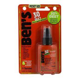 24 Bulk Travel Size Bens Repellent 1.25 oz.