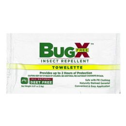 100 Bulk Travel Size Insect Repellent - Bugx Deet Free Insect Repellent