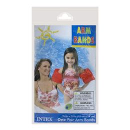 72 Bulk Arm Bands - Intex Arm Bands Ages 3 To 6