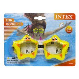 24 Bulk Goggles - Intex Fun Goggles Ages 3-8
