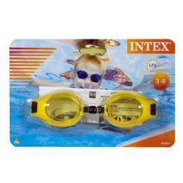 36 Bulk Intex Kids Swim Goggles Ages 3 To 8