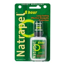 24 Bulk Travel Size Natrapel Insect Repellent 1 oz.