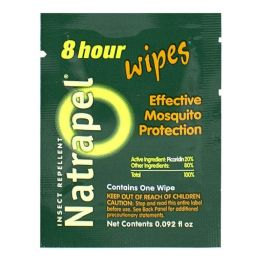 192 Bulk Insect Repellent - Natrapel 8 Hour Insect Repellent Wipes