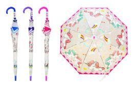24 Bulk Unicorn Children's Assorted Umbrellas