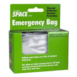 12 Bulk Emergency Bag - Space Brand Emergency Bag 56 inch x 84 inch