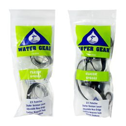 24 Bulk Water Gear Goggles For Adults Only