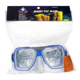 8 Bulk Swim Mask - Water Gear Sport Pvc Swim Mask