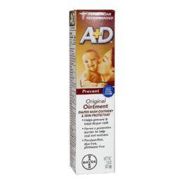 24 Bulk Rash Ointment - A D Original Diaper Rash Ointment 1.5 Oz.