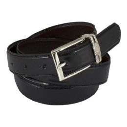 12 Bulk Belt Reversible Adjustable Black/Brown