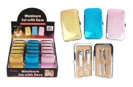 30 Bulk Manicure Set With Case 6 Piece