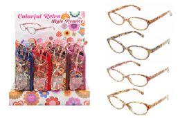 24 Bulk Retro Reading Glasses