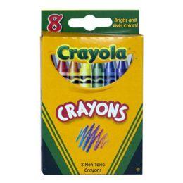 96 Bulk Crayola Crayons Box Of 8