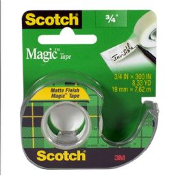 72 Bulk Magic Tape - Scotch Magic Tape 3/4 inch