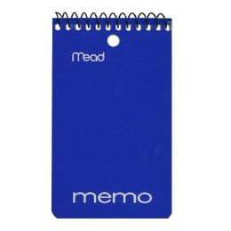 72 Bulk Memo Books - Spiral Memo Books
