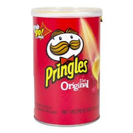 72 Bulk Pringles Original Potato Chips 2.36 oz.
