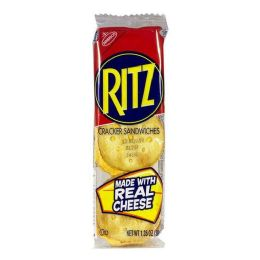 144 Bulk Sandwich Crackers - Ritz Cheese Sandwich Crackers 1.35 oz.