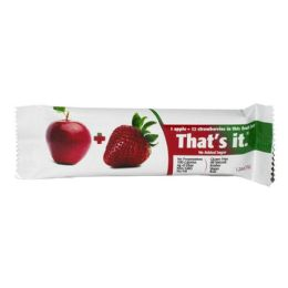 60 Bulk Fruit Bar - Thats It Fruit Bar Apple And Strawberry 1.2 Oz