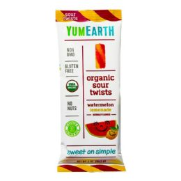 48 Bulk Sour Twists - Yumearth Organic Sour Twists 2 oz.