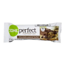 72 Bulk Nutrition Bar - Zone Perfect Nutrition Bar Chocolate Peanut Butter 1.76 oz.