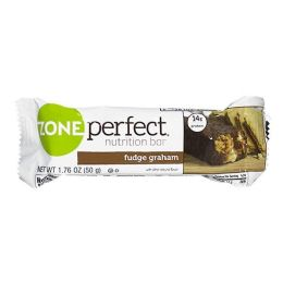 72 Bulk Nutrition Bar - Zone Perfect Nutrition Bar Fudge Graham 1.76 oz.