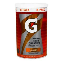 160 Bulk Orange Powder - Gatorade Orange Powder Pack 1.23 oz.