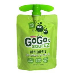 96 Bulk Apple Sauce - Gogo Squeez Applesauce On The Go 3.2 oz.