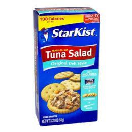 48 Bulk Deli Style Salad Kit - Starkist Tuna Deli Style Salad Kit 2.75oz.