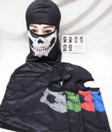 48 Bulk Skull Face Mask Gaiters Face Mask Neck Gaiters Face Cover Scarf Breathable Gator Mask Cooling Bandana Skull Scarf