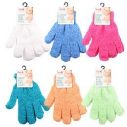 84 Bulk Bath Luxury Scrub Gloves