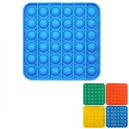 24 Bulk Push Pop Fidget Toy [solid Square]