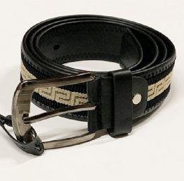 48 Bulk Mens Fashion Belt In Assorted Sizes